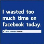19 wasting time on facebook